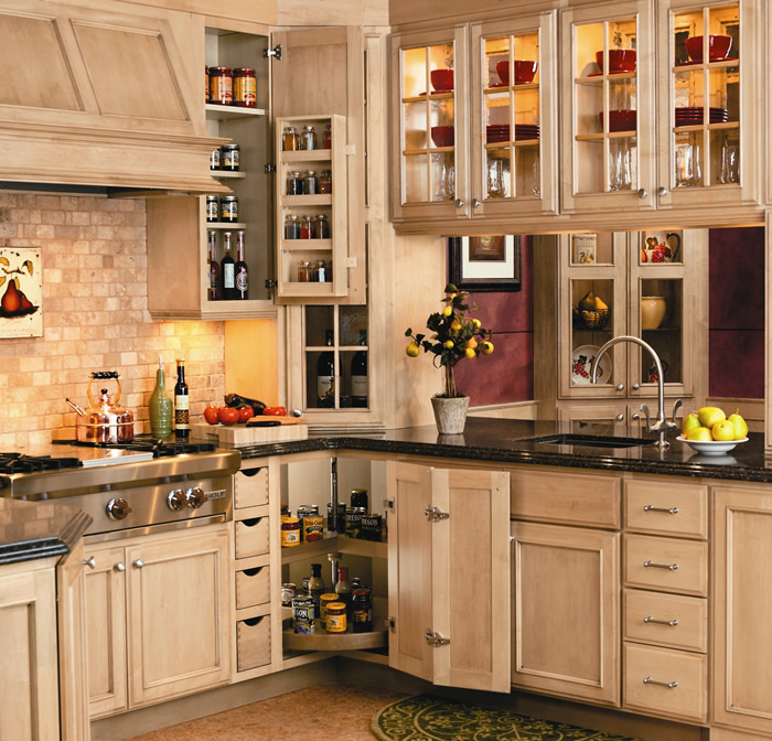 Furniture looks, elegant simplicity mark new styles in kitchen ...