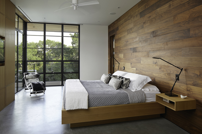 Trend Alert: Wood Planks Warm up Ceilings and Walls