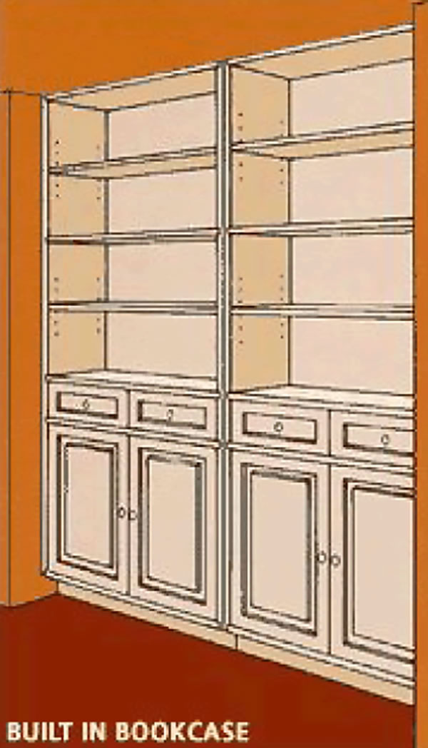 How to Build a Recessed Wall Unit - American Hardwood Information Center