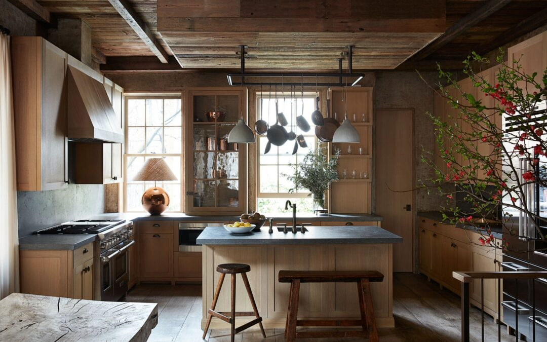 The All-Wood Kitchen is Having a Moment